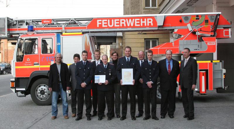 Beim Feuerwehr-Webseiten-Wettbewerb der Fa. Dräger Safety