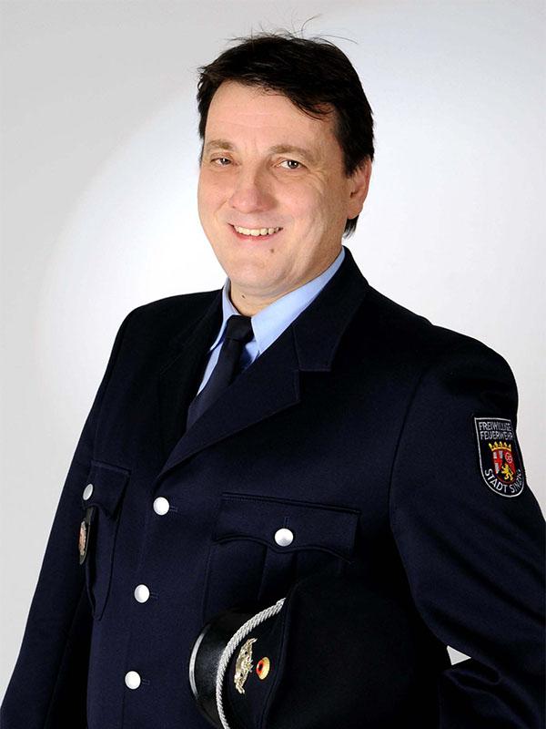 Wehrleiter Andreas Braun