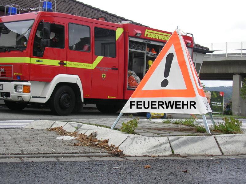 Achtung - Brandgefahren verhindern!