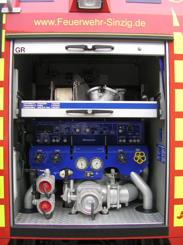 TLF 24/50 Geräteraum Rückseite
