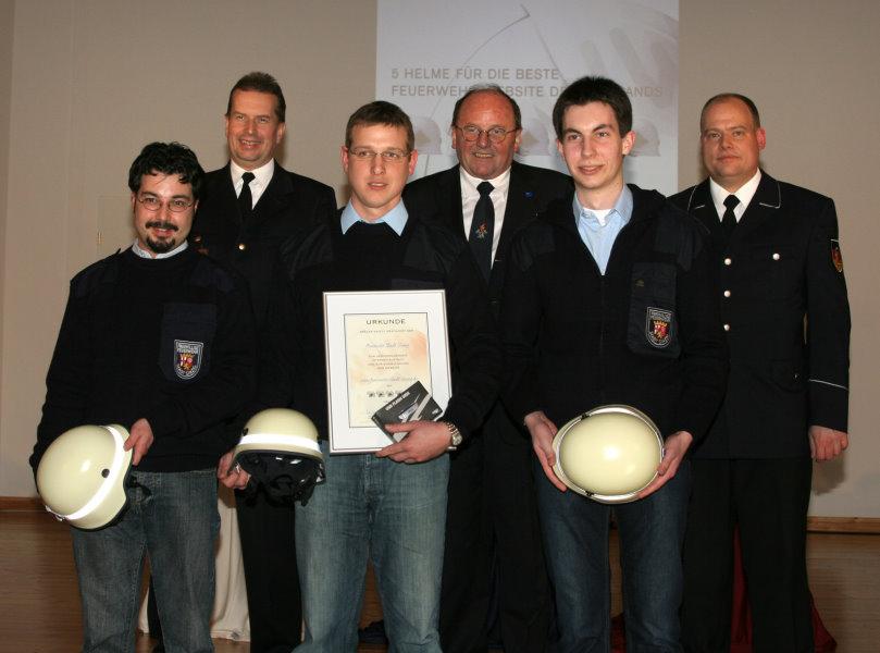 Feuerwehr-Webseiten-Wettbewerb