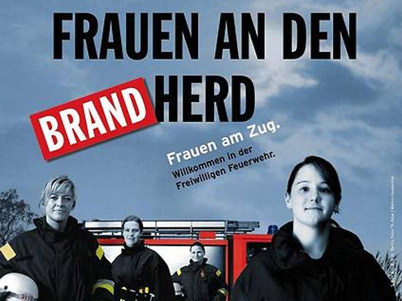 Frauen an den Brand-Herd