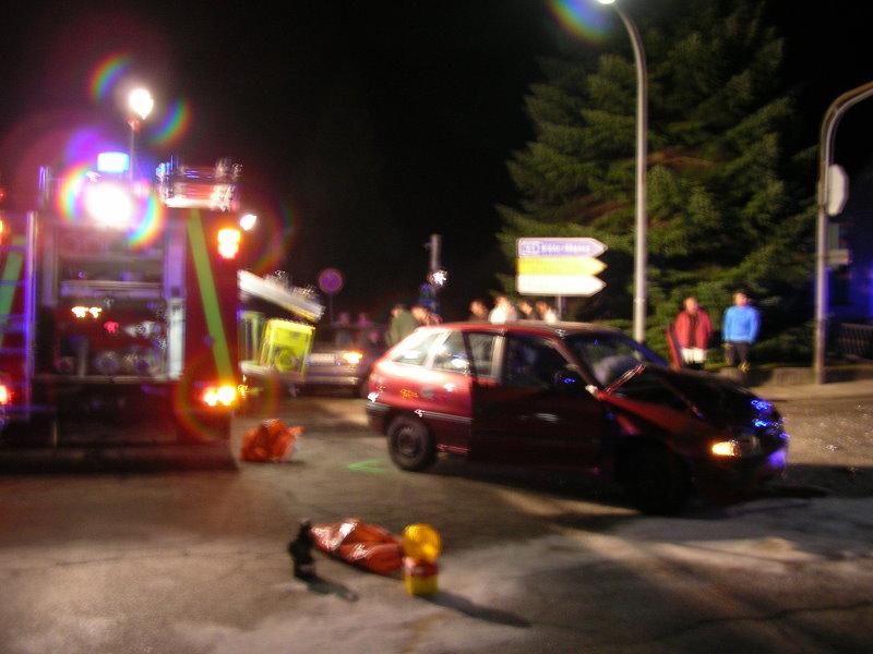 Verkehrsunfall Wallstraße