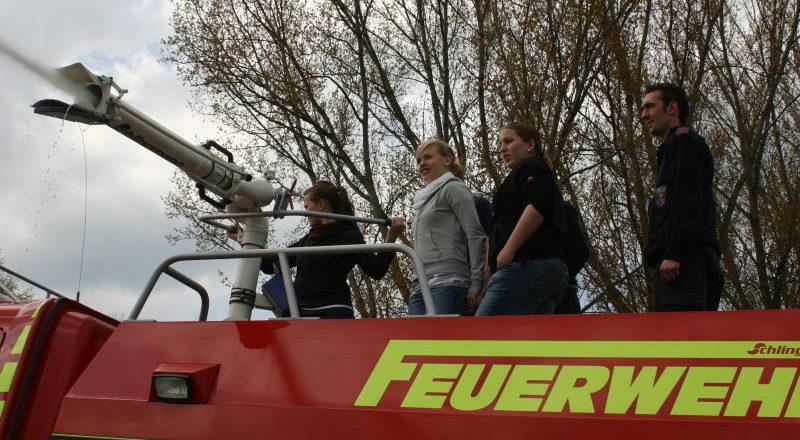 Wasserwerfer des TLF