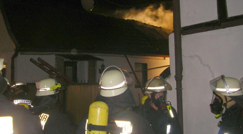 Scheunenbrand in Gönnersdorf