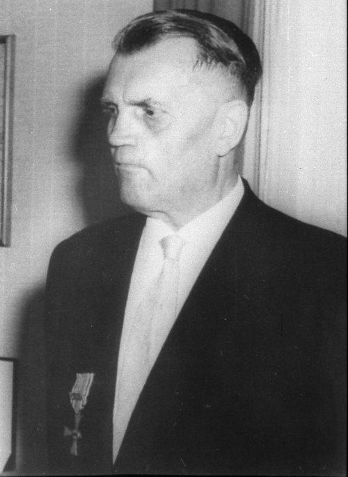 Jean Moeren, Wehrführer 1946 – 1954