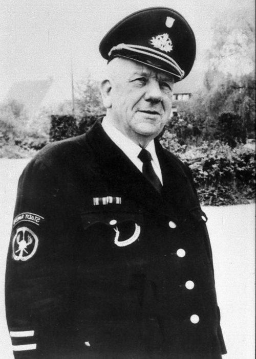 Peter Alfter, Wehrführer 1954 - 1975