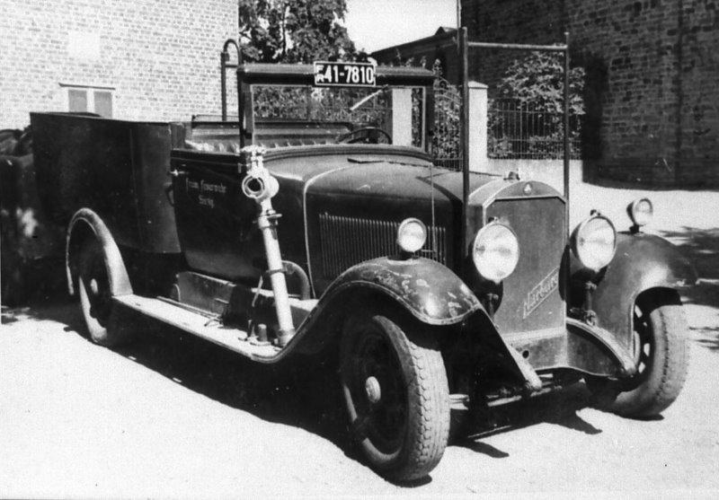 """1935 Erstes Motorfahrzeug """"Nürburg"""""""