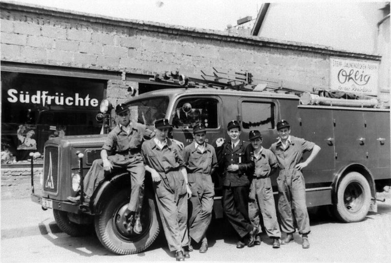 Löschgruppenfahrzeug LF 15 im Jahr 1955