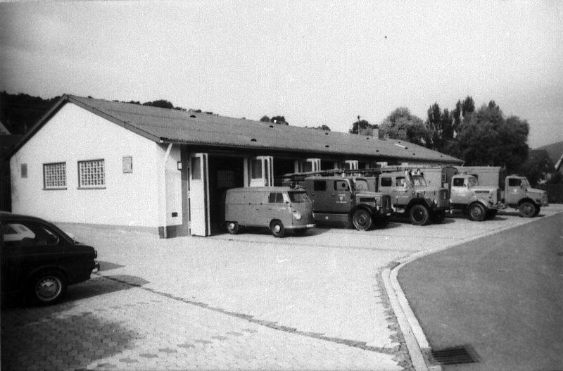 Neues Gerätehaus 1968
