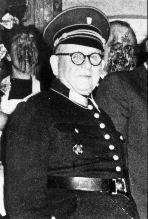 Matthias Drenk, Wehrführer 1934 – 1946