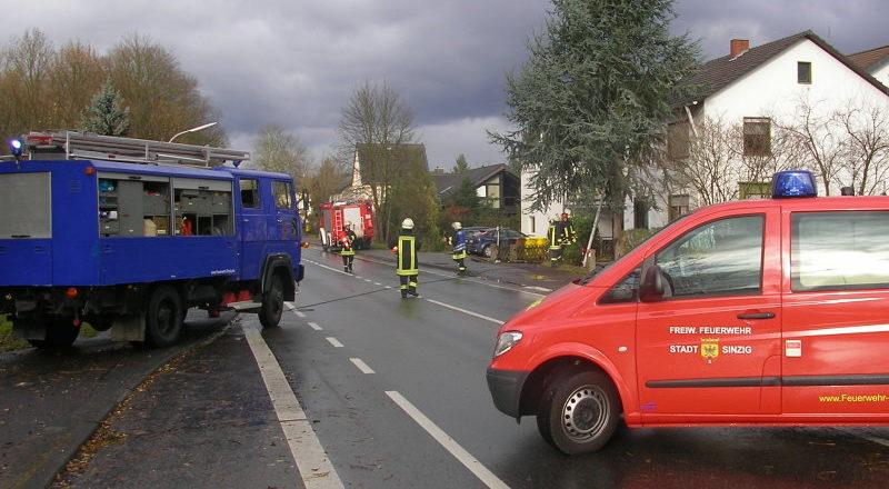Sperrung der Kölnerstraße