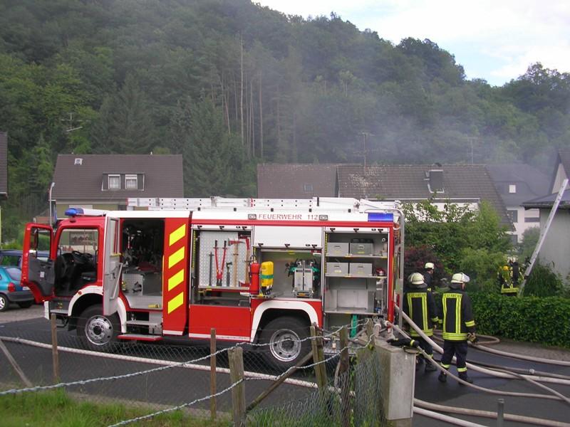 Dachstuhlbrand Sebastianusweg