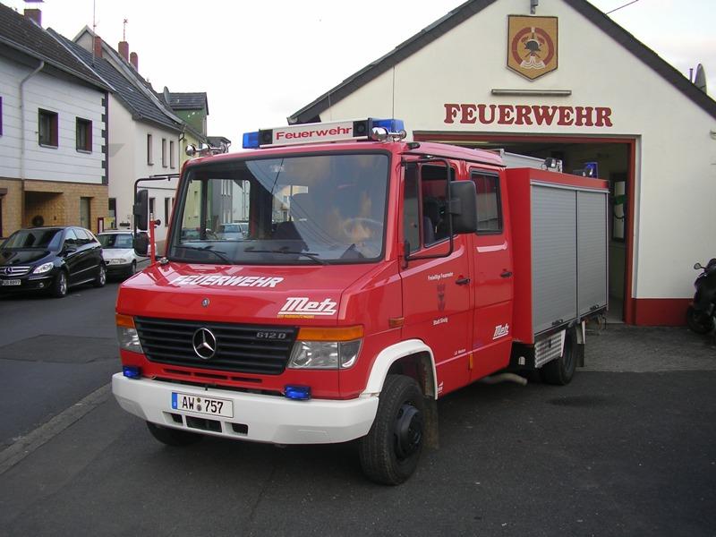 Tragkraftspritzenfahrzeugt TSF-W