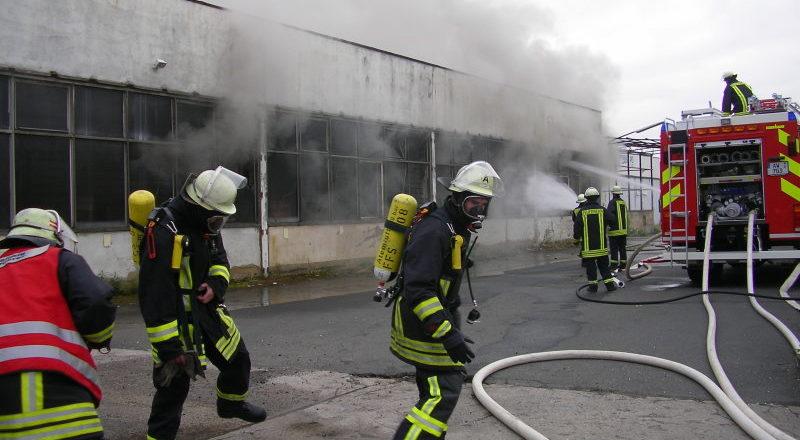 """Einer von """"wenigen"""" Brandeinsätzen im Land"""