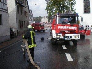 Dorfstraße musste gesperrt werden