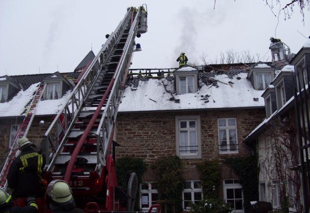 Im Hotel Rodderhof brannte der Dachstuhl