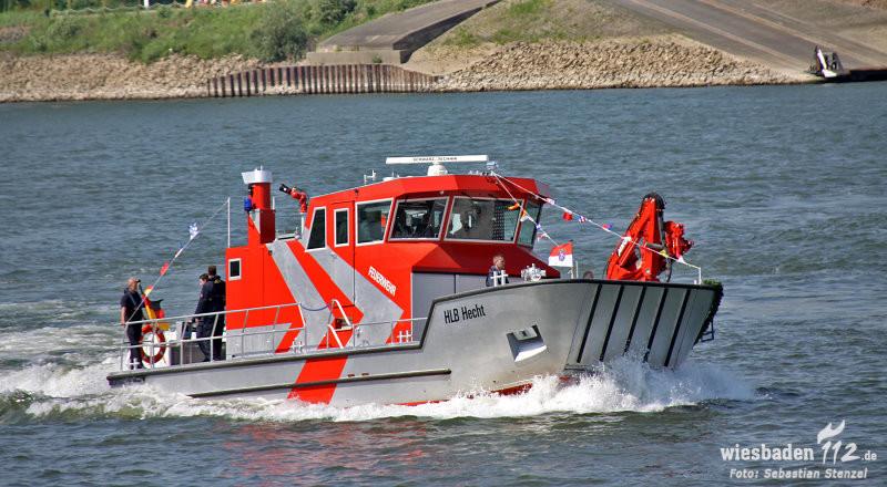 Neues Hilfeleistungs-Löschboot in Gernsheim
