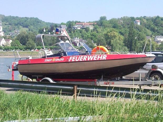 Mehrzweckboot der Feuerwehr Sinzig