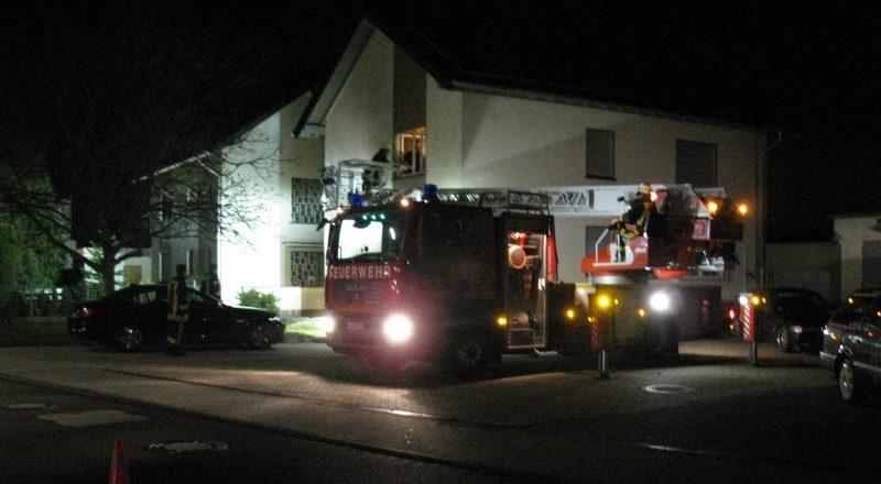 Die Feuerwehr unterstützte den Rettungsdienst