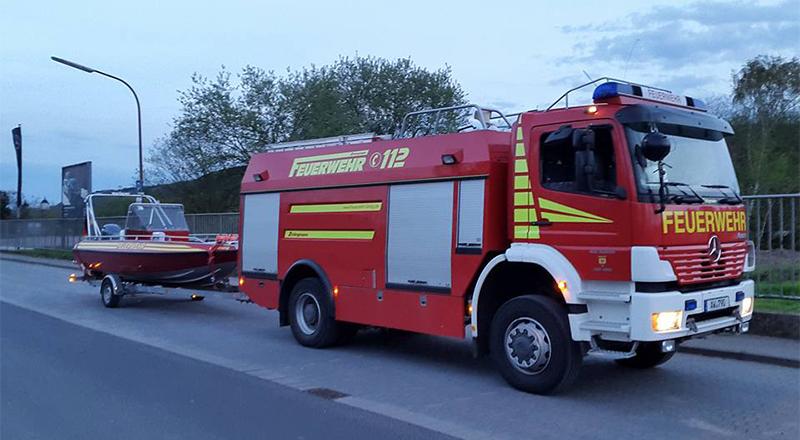TLF 24/50 mit Rettungsboot