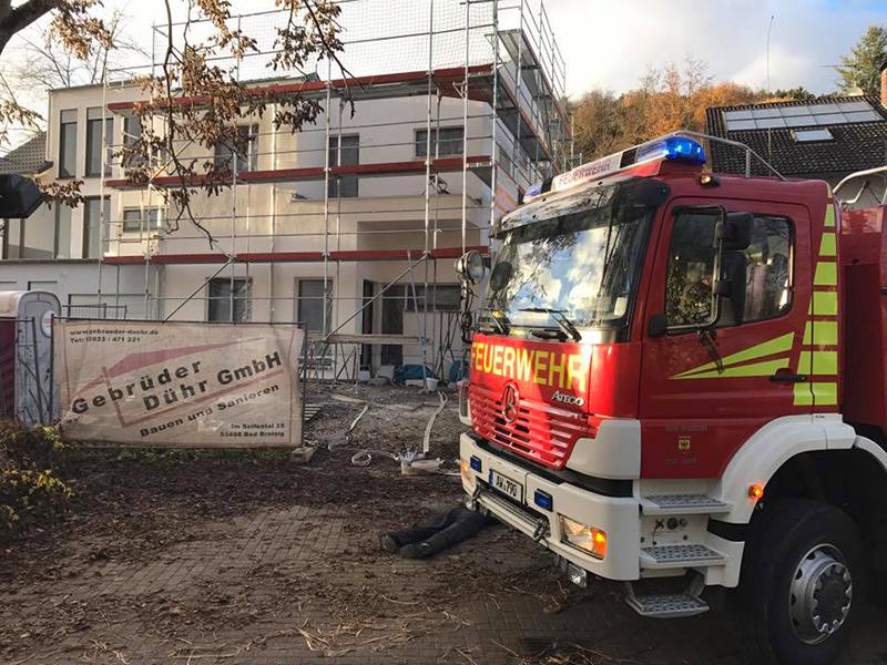 Brand eines Wohnhaus