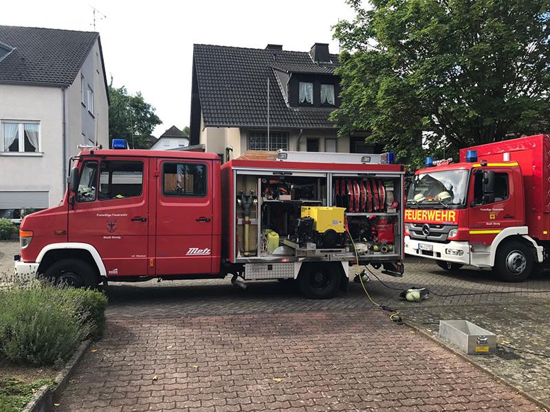 30.07.2017 - Geplatzter Heizkessel in Westum