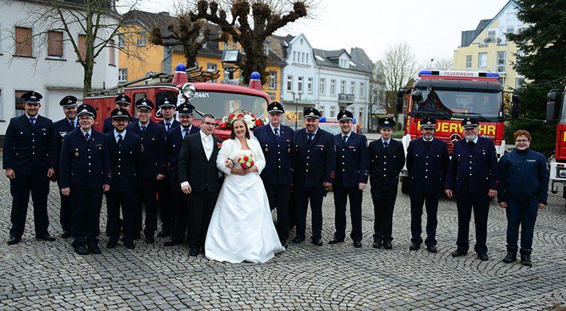 Kirchliche Trauung Marcel Kowalski und Franziska