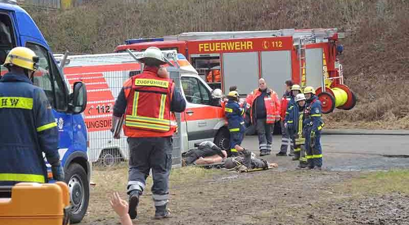 10.03.2018 - Gemeinschaftsübung THW, DRK, Feuerwehr Sinzig