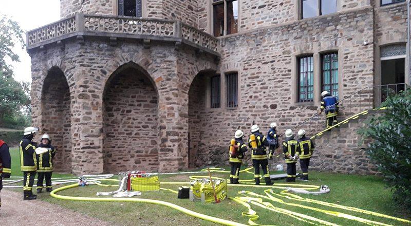 06.09.2018 - Übung Schloss Sinzig