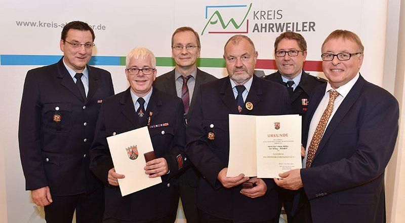 2018 - Verleihung goldenes Feuerwehr-Ehrenabzeichen