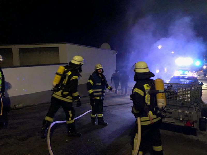 06.03.2019 - Brand eines Anhänger