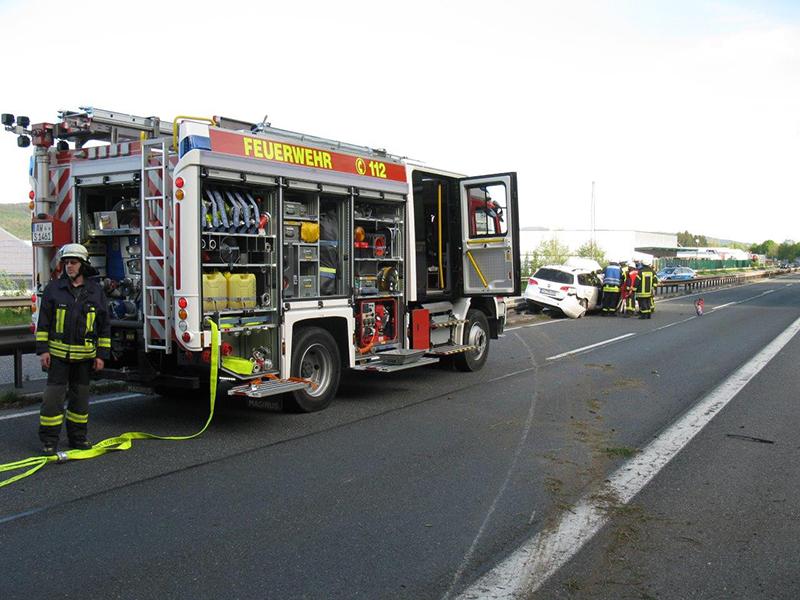 22.04.2019 - Verkehrsunfall B9