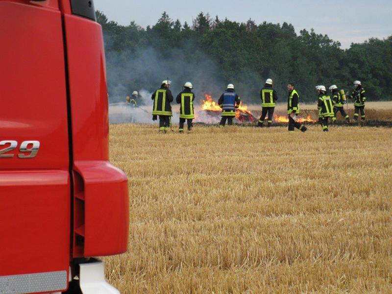 07.07.2019 - Flächenbrand Koisdorf