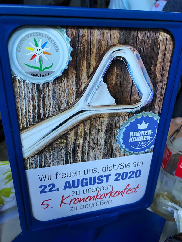 2019 -Kronenkorken-Sammel-Aktion