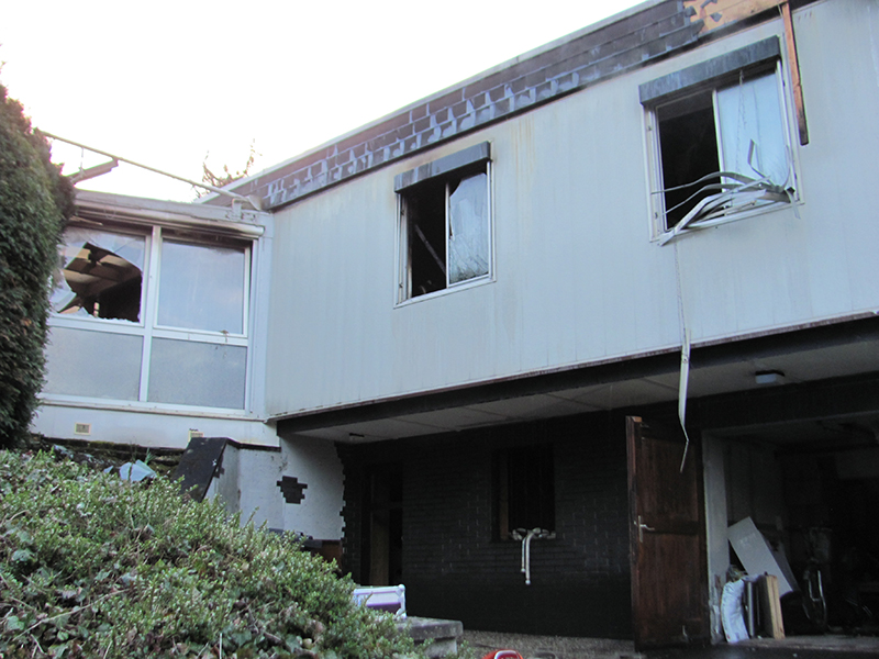 04.03.2020 - Gebäudebrand Koisdorfer Str.