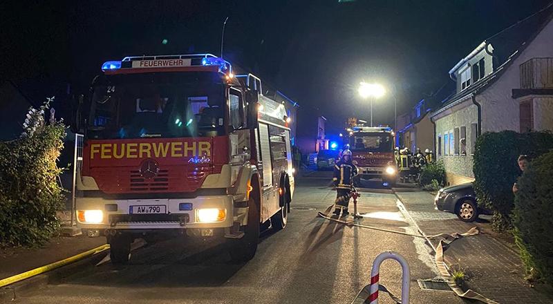 02.06.2020 - Gebäudebrand Boffertsweg