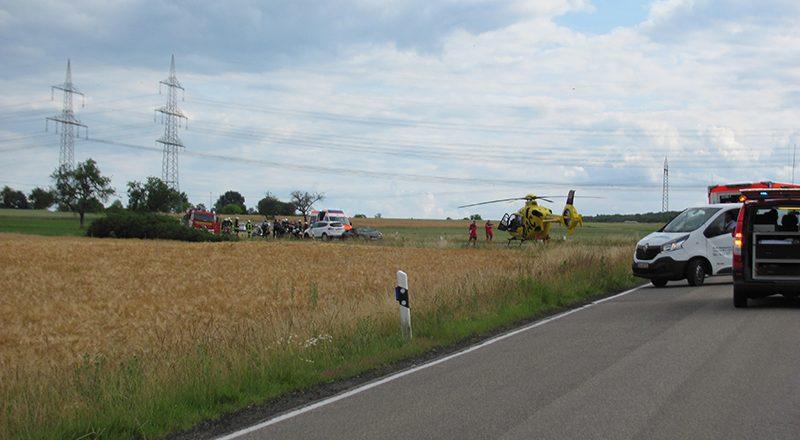 21.06.2020 - Verkehrsunfall Franken