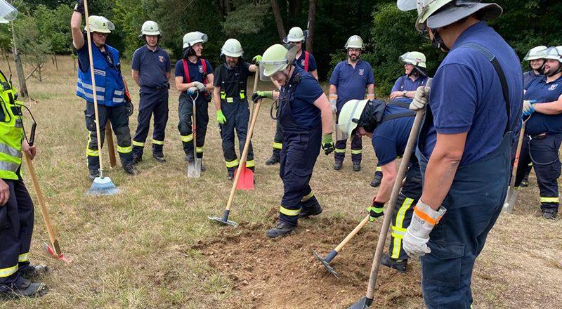 18.07.2020 - Übung - Wald- und Vegetationsbrände