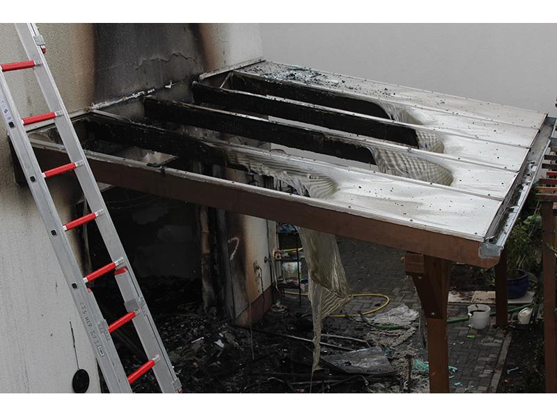 26.07.2020 - Gebäudebrand Kasbacher Weg