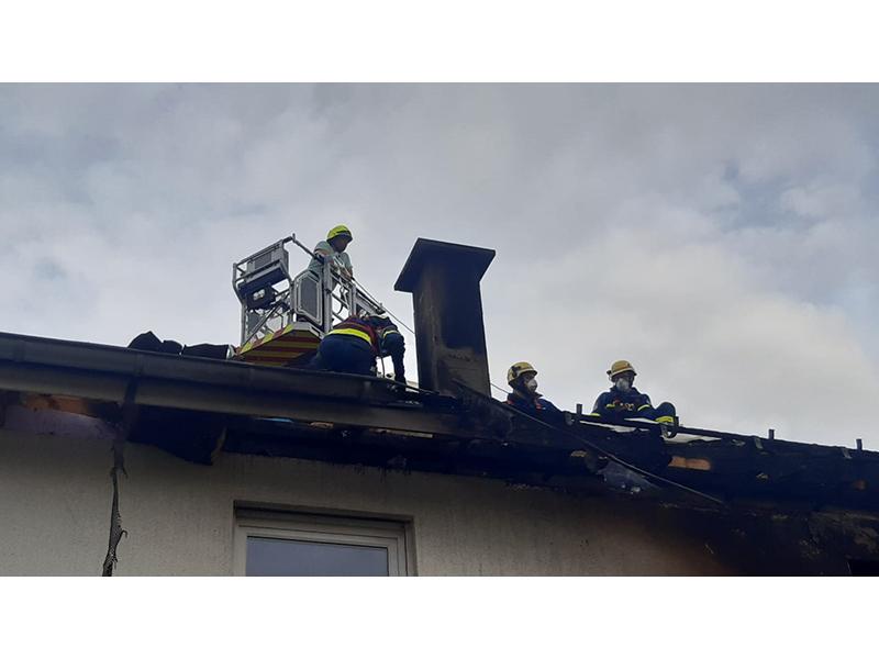 26.07.2020 - Gebäudebrand Kasbacher Weg Titelbild