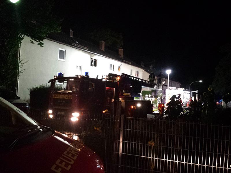 10.08.2020 - Gebäudebrand Friedrich-Spee-Str