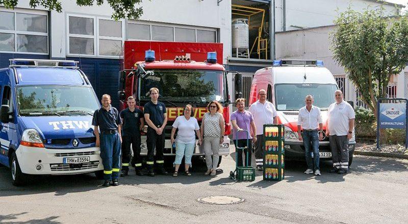12.08.2020 - Getränkespende Sinziger Mineralbrunnen