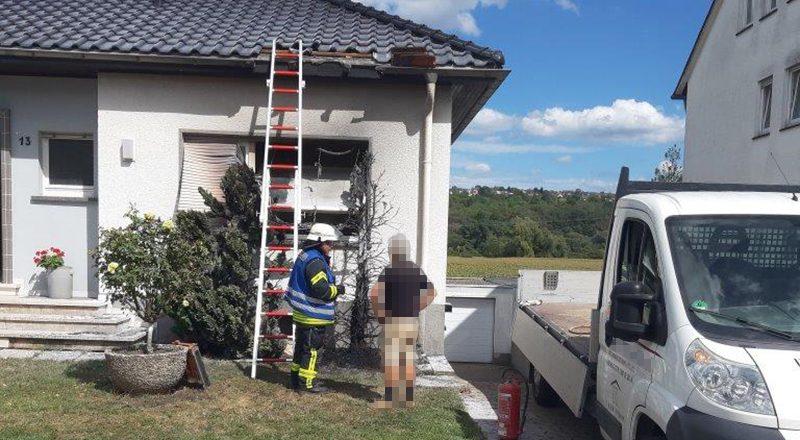 20.08.2020 - Wohnungsbrand Am Dorn