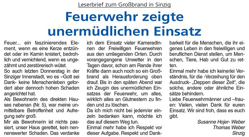 Blick aktuell - Ausgabe Sinzig Nr. 34/2020