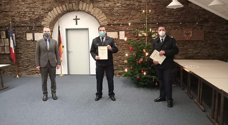 10.12.2020 - Ernennung Wehrleitung u. LZ Führung Sinzig