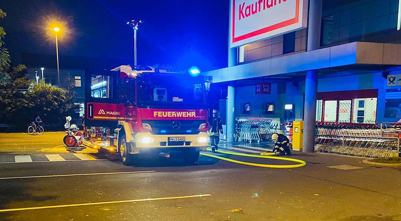 10.10.2021 - Brand Einkaufswagen
